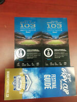 Half Price Grey Cup Tickets - $400 for the pair - Sec 233 Row 21