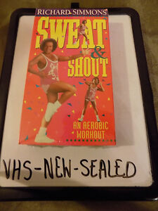 FUNNY GIFT: 3 SEALED RICHARD SIMMONS VHS WORKOUT VIDEOS & 2 USED London Ontario image 2