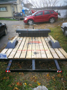 Solid, Single Axle Trailer - REDUCED