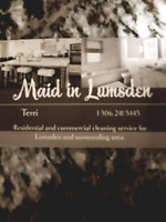 Maid in Lumsden Maid service!