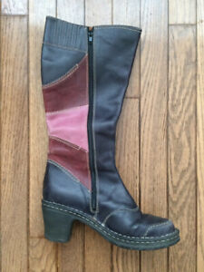 Women's Leather Boots - Josef Seibel (all leather - size 39/40)
