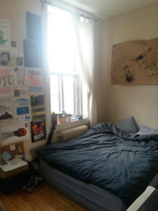 MILE END - Room for rent in sunny 6 1/2 available January 1