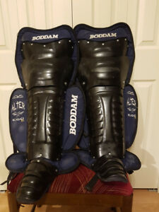 Box Lacrosse Goalie Pads