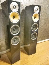 B&W CM8 home cinema bowers and Wilkins speakers