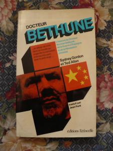 DOCTEUR BETHUNE ( LIVRE VINTAGE 1973 )