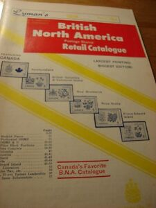 BRITISH NORTH AMERICAN RETAIL STAMP CATALOGUE