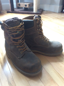 Lightly Used Steel-Toe Boots (Good Condition)