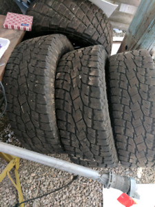3x Toyo Open Country A/T