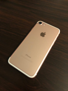 iPhone 7 Rose Gold - 128GB Perfect Condition