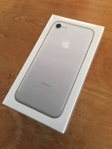 New Iphone 7 32gb silver