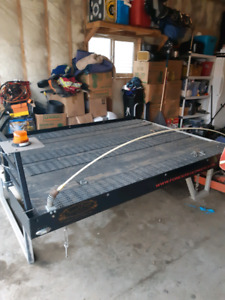 Cross Trax 8' Black Aluminum Sled Deck