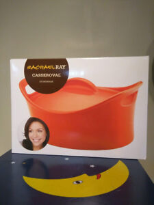 Brand new in box Rachael Ray™ Stoneware 4.25 qt. Casseroval