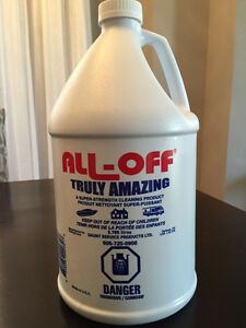 All-Off Marine, Boat, RV & Home Cleaner 3.785 Litre Bottles