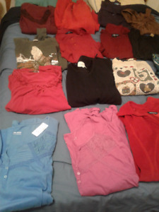 WOMENS PLUS SIZE CLOTHING-- 5X,6X, NEW & USED!!