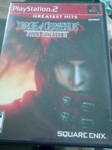 Final Fantasy VII: Dirge of Cerberus, PS2 [greatest hits]