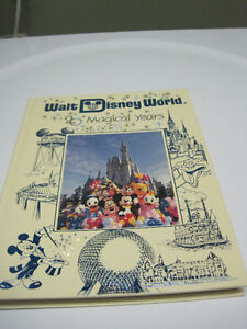 Walt Disney World - 20 Magical Years Commemorative Book Kitchener / Waterloo Kitchener Area image 1