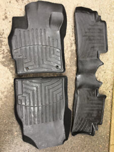 Mazda CX-7 WeatherTech Mats and OEM trunk liner
