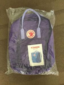 Brand New Fjallraven Kanken Classic Backpack Purple $80