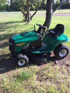 Two garden tractors for sale