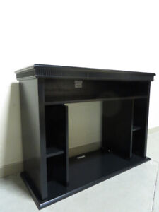 ~~~Fireplace Mantel Surround In Black