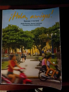 Hola Amigos 2nd Canadian edition textbook