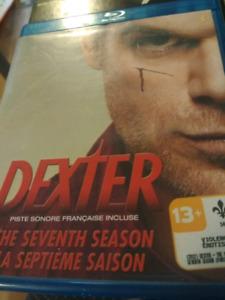 blu-ray serie Dexter saison 7.