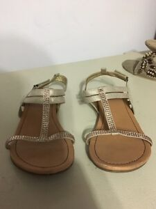 Girl's fancy sandal.