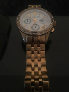 Michael Kors gold ladies studded watch