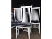 Caxton Dining Chairs.Delivery Offered