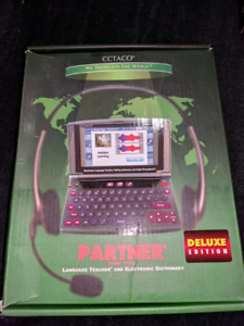 Language teacher and electronic dictionary $40 obo
