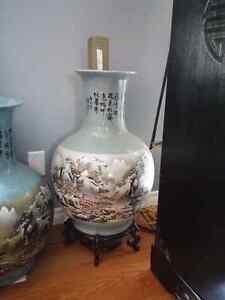 Chinese Vase set of 5 Kitchener / Waterloo Kitchener Area image 2