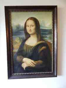 Hand Painted Oil Mona Lisa Reproduction