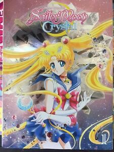 Two Sailor Moon Crystal Season 1 DVDs