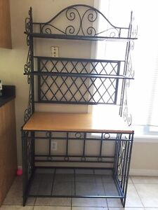 Microwave Stand or Baker Rack