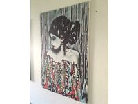 Canvas print wall hanging (new )