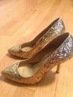 Gold sequins size 7