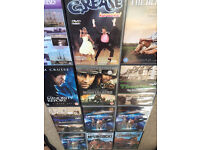 DVDs - mixed collection