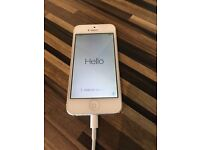 Apple iphone 5 white, 16GB used but in excellent grade A condition. No marks/scratches. No SIM
