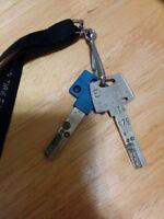 Lost keys clés perdu