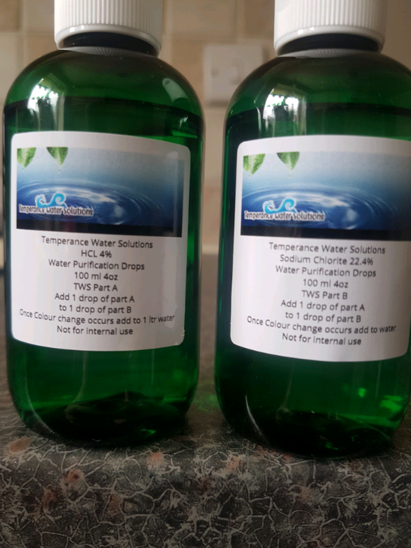 Water purification drops mms/mms/citric acid & sodium chlorite | in  Newcastle-under-Lyme, Staffordshire | Gumtree
