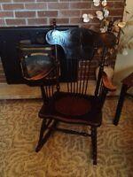 Antique rocking cgsur