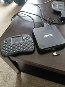 Android box with key pad