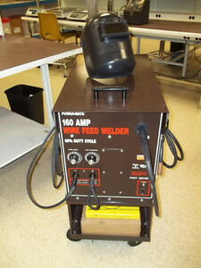 POWER-MATE 160 amp MIG WELDER