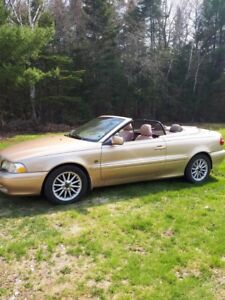 1999 VOLVO CONVERTIBLE FOR SALE