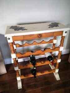 Wooden wine rack Kitchener / Waterloo Kitchener Area image 1