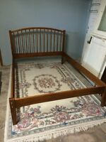 DOUBLE MAPLE SOLID BED FRAME