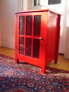 Little Red Cabinet