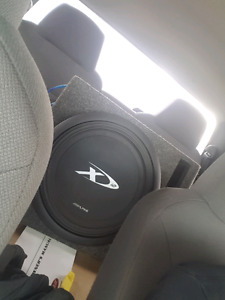 Alpine type x 12 in ported box ***reduced***