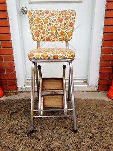 Escabot Vintage Step Ladder Chair Retro