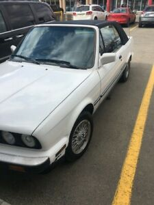 1988 bmw 325i convertible 5 speed e30**PRICE REDUCE**